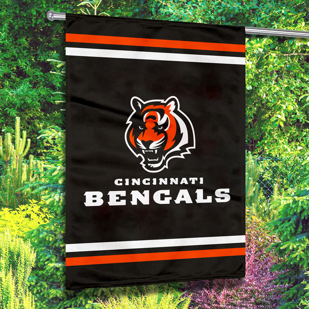 Cincinnati Bengals Premium 2-Sided House Flag (Made in the USA)