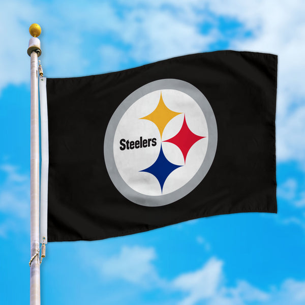 Pittsburgh Steelers 4X6 Flag