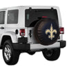New Orleans Saints Logo Tire Covers