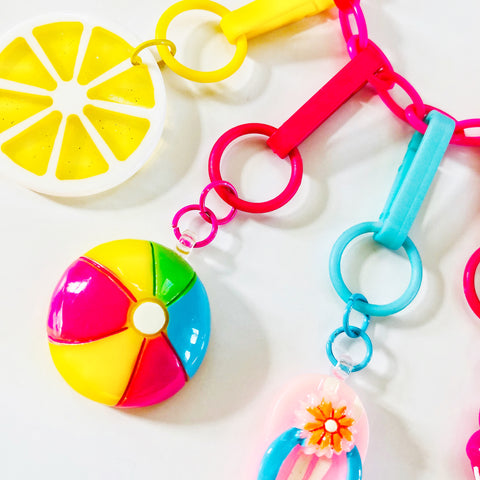Sizzlin' Summer Beach Ball Charm
