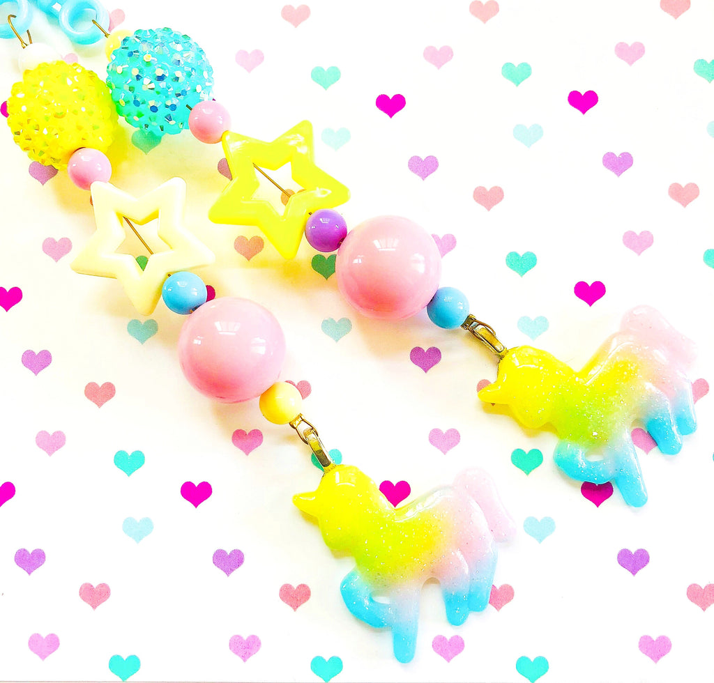 Unicorn Jelly Basket Charm