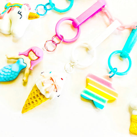 Sweet Ice Cream Cone Charm