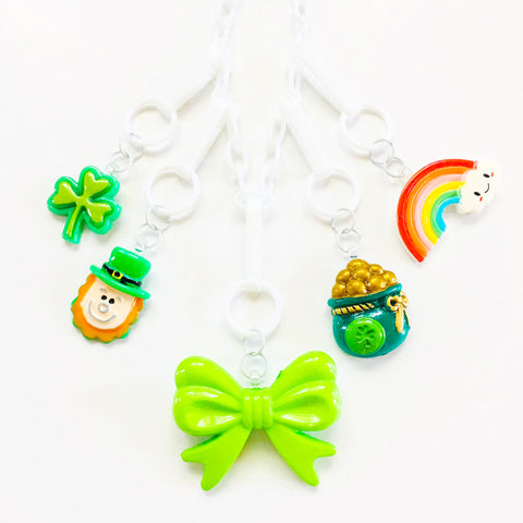 St. Paddys Day Clover Charm
