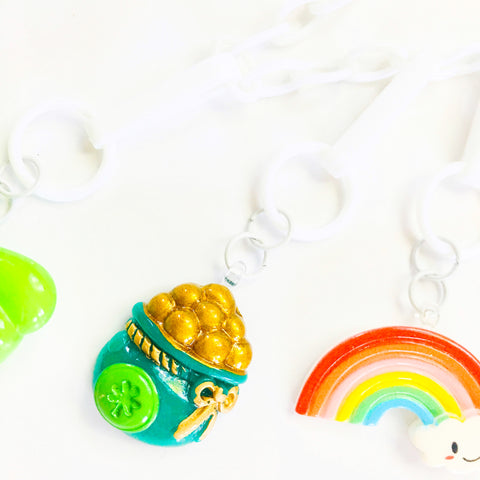 St. Paddys Day Pot O' Gold Charm