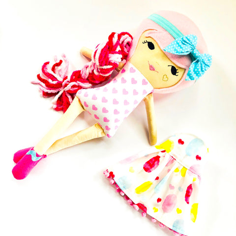 Pre-Order Valentines Day Dolly
