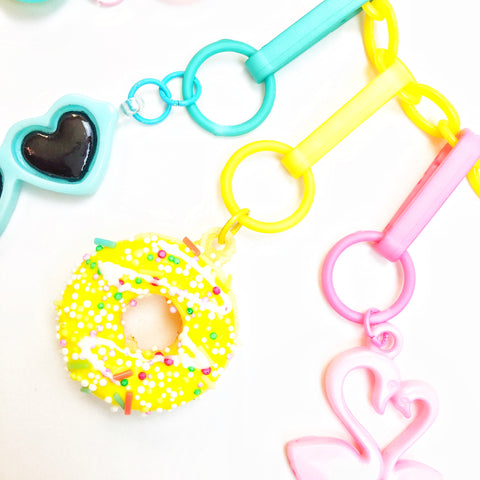 Donut Charm // Yellow