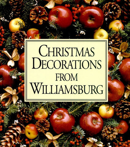 i purchased the book christmas decorations from williamsburg and was totally inspired i checked out prices online at sites such as ebay and etsy and they