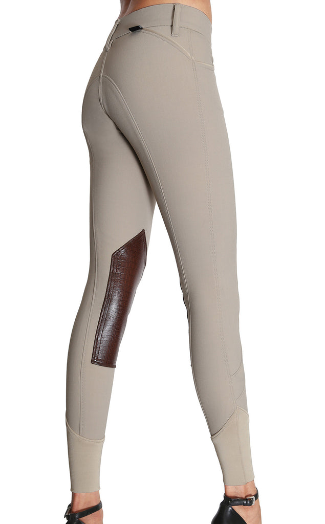 Fiona Knee Patch Show Breech Tan