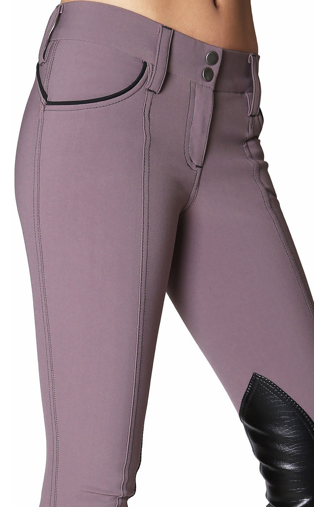 Fiona Knee Patch Show Breech Deep Orchid