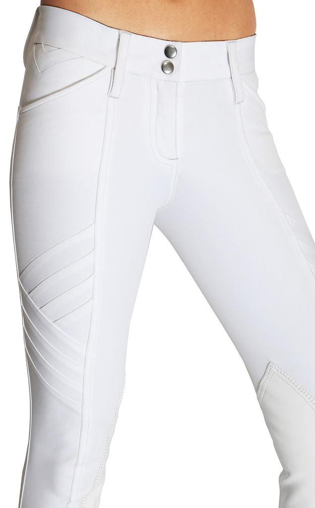 Pandora Knee Patch Show Breech White
