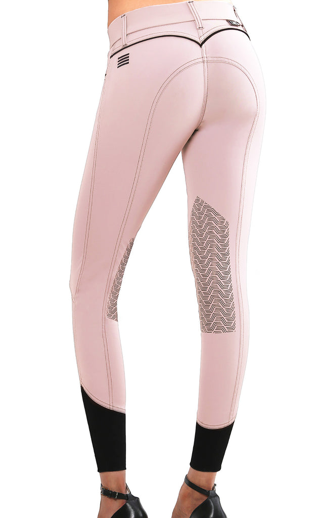 Elara Knee Patch Breech Blush