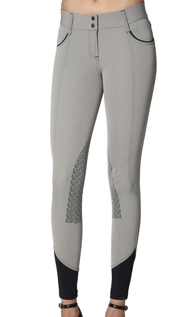 Elara Knee Patch Breech Pistachio