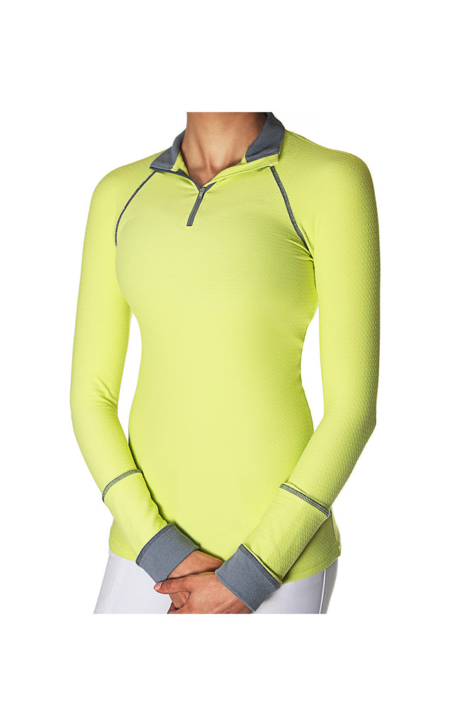 Alia Performance Shirt UPF50+ Lemon-Lime - T0012A