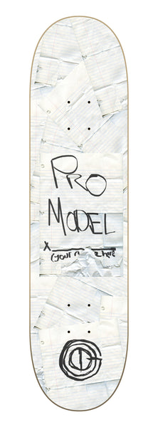 Good Skateboards Customized Pro Model!