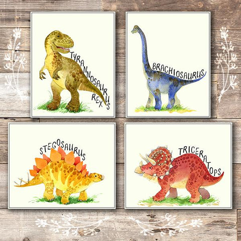 Dinosaur Wall Art Prints