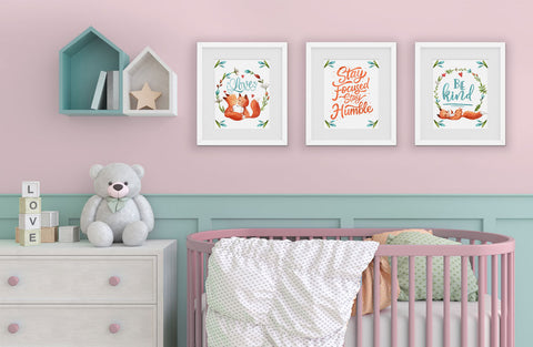 Girls Room Wall Art