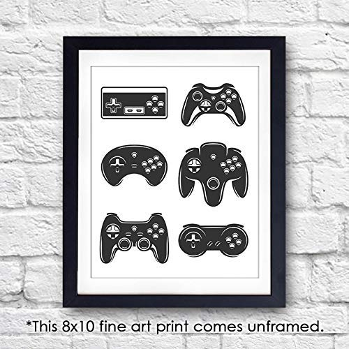 Video Game Wall Art Print - Unframed - 8x10 - Dream Big Printables