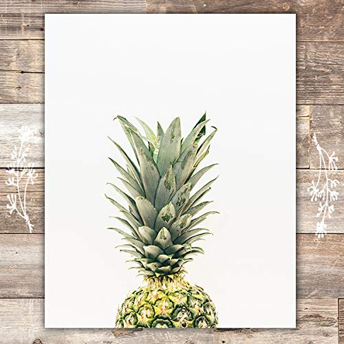 Pineapple Wall Art Print - Unframed - 8x10 | Beach Decor - Dream Big Printables