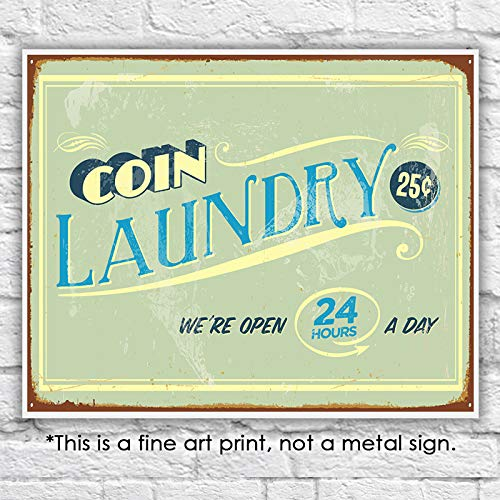 Laundry Room Wall Decor Art Print - Unframed - 8x10 - Dream Big Printables