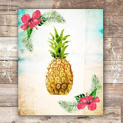 Pineapple Art Print - Unframed - 8x10 - Dream Big Printables