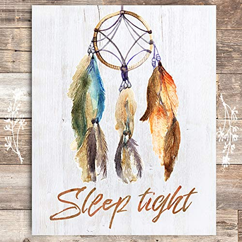 Sleep Tight Art Print - Unframed - 8x10 - Dream Big Printables