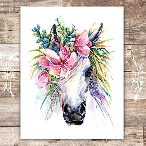Unicorn Wall Decor Art Print - Unframed - 8x10s - Dream Big Printables