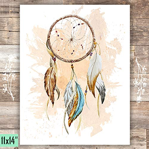Dreamcatcher Art Print - Unframed - 11x14 - Dream Big Printables
