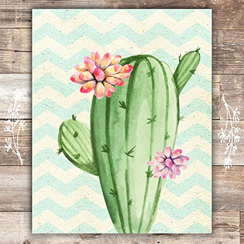 Cactus Art Print - Unframed - 8x10 - Dream Big Printables