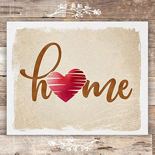 Home Art Print - Unframed - 8x10 - Dream Big Printables