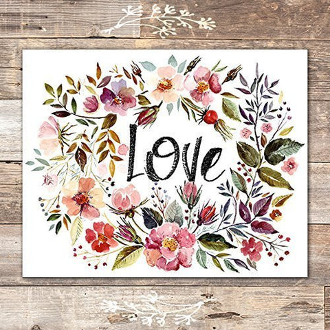 Love Wall Decor Art Print - Unframed - 8x10