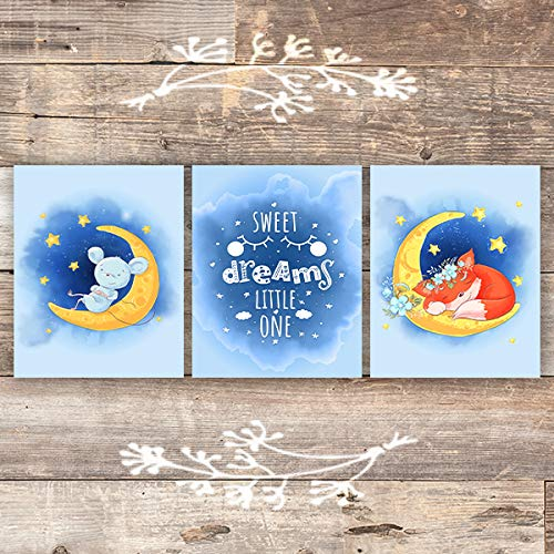 Sweet Dreams Little One (Set of 3) - Unframed - 8x10s - Dream Big Printables
