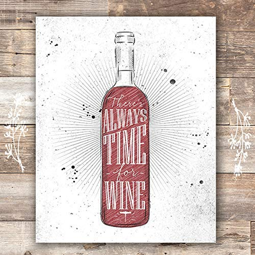 Wine Wall Decor Art Print - Unframed - 8x10 - Dream Big Printables