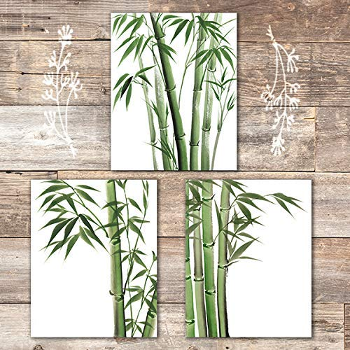Bamboo Art Prints (Set of 3) - Unframed - 8x10s - Dream Big Printables