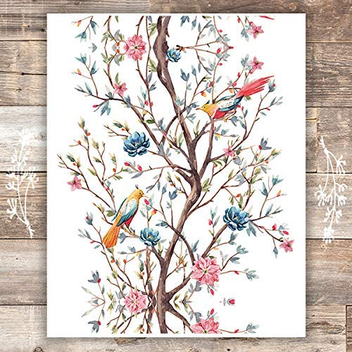 Bird Wall Art Print - Unframed - 8x10s - Dream Big Printables