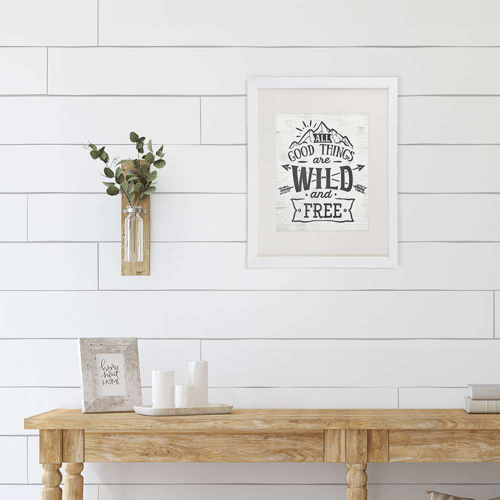 All Good Things Are Wild and Free Art Print - 8x10 - Dream Big Printables