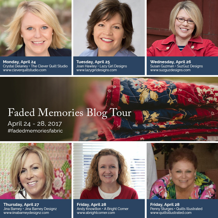 Faded Memories Blog Tour