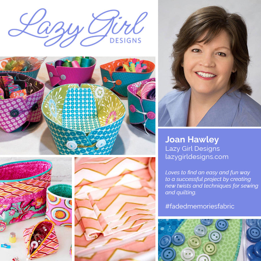 Faded Memories Blog Tour Day 2:  Joan Hawley of Lazy Girl Designs
