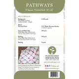 Pathways Quilt Pattern (PSD-455P)