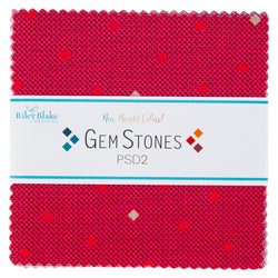 "NEW!  Gem Stones Bright 5"" Stacker"