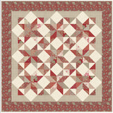 """Nine Patch Stars"" PDF Quilt Pattern"