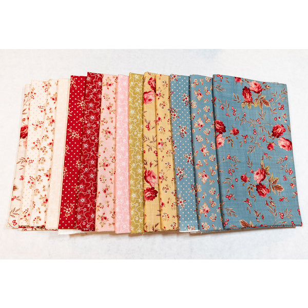 <b>SALE - BED OF ROSES FABRIC BUNDLE!</b>