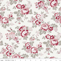 Rustic Romance Light Gray Main Print (C7060 Light Gray)
