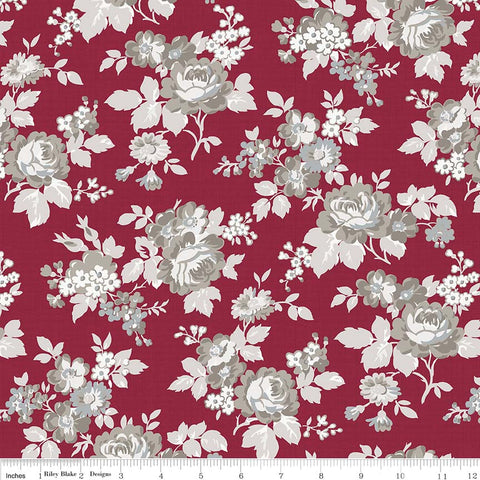 Rustic Romance Red Main Print (C7060 Red)