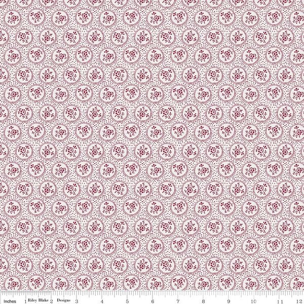 Rustic Romance Light Gray Dot Print (C7064 Light Gray)