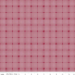 Rustic Romance Red Plaid Print (C7067 Red)