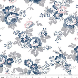 NEW! Majestic White Main Print (C8140 White)