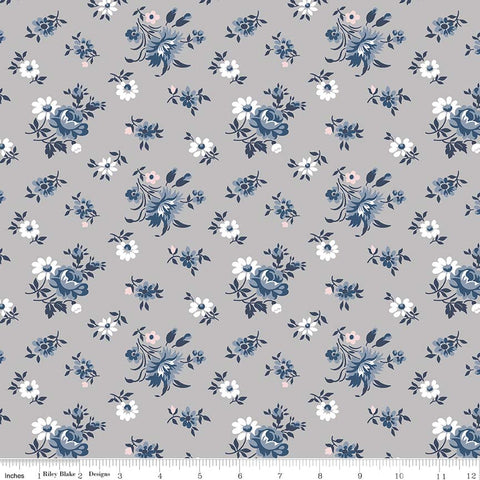 NEW! Majestic Gray Toss Print (C8142 Gray)