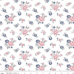 NEW! Majestic White Toss Print (C8142 White)