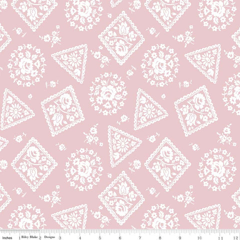 COMING SOON! Majestic Pink Stamp Print (C8143 Pink)