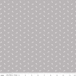 NEW! Majestic Gray Dot Print (C8145 Gray)